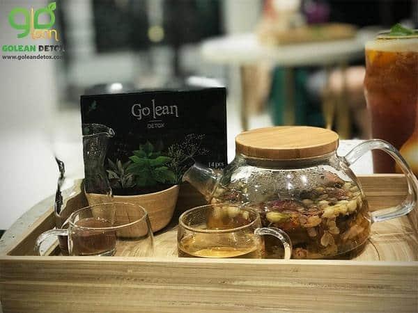 Hướng dẫn cách dùng trà giảm cân golean detox đúng cách
