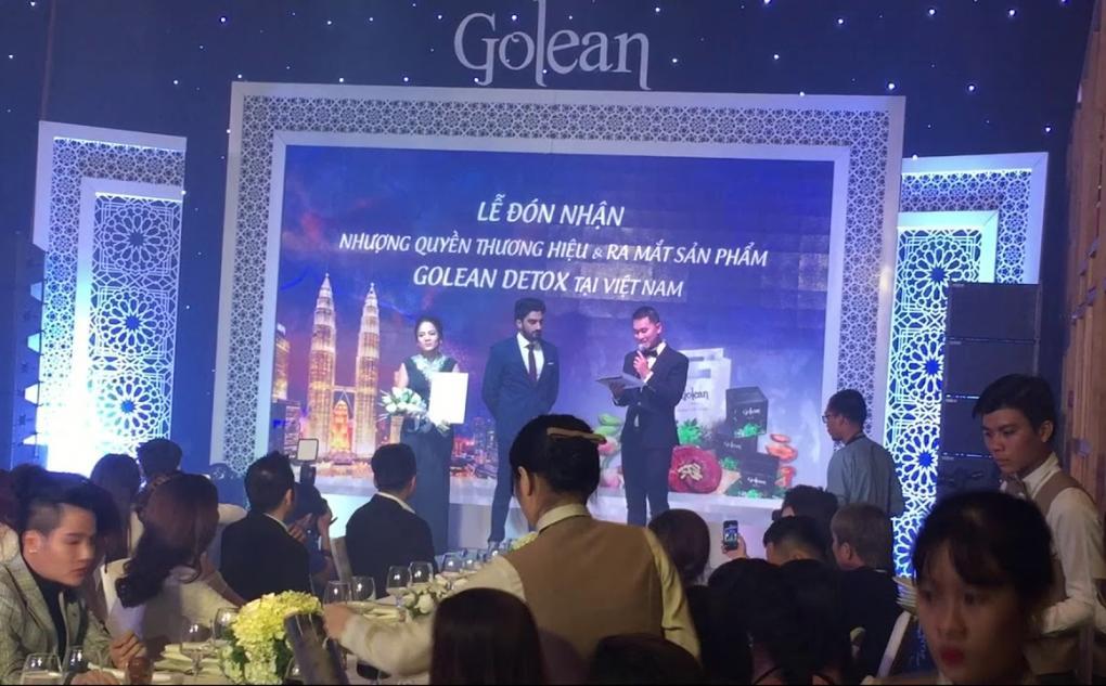 su kien golean detox 15 1020x633 - Nhượng quyền thương hiệu Golean Detox cho công ty Matxi S.G