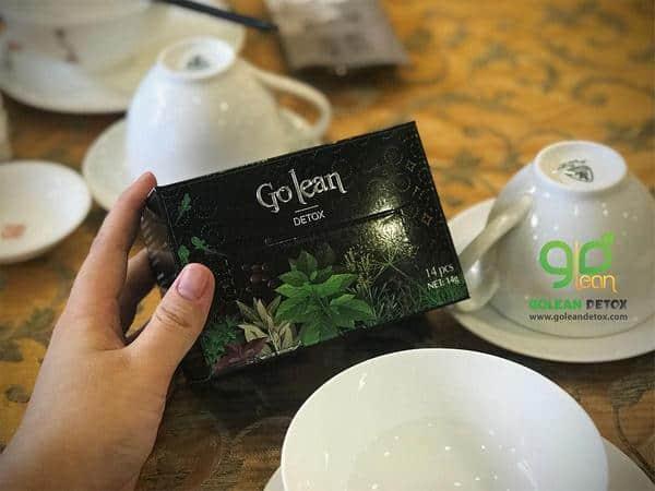 trà giảm cân Golean Detox có tác dụng phụ không
