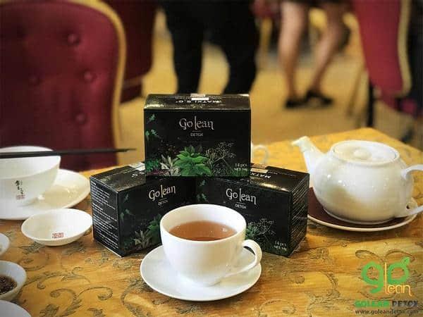 trà giảm cân Golean Detox có dạng viên