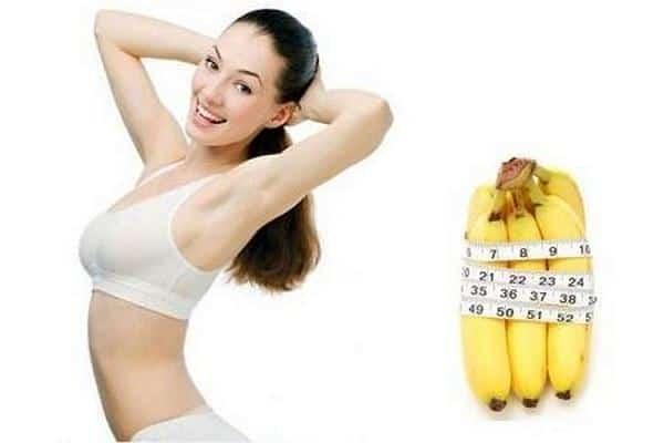 cách ăn chuối giảm cân