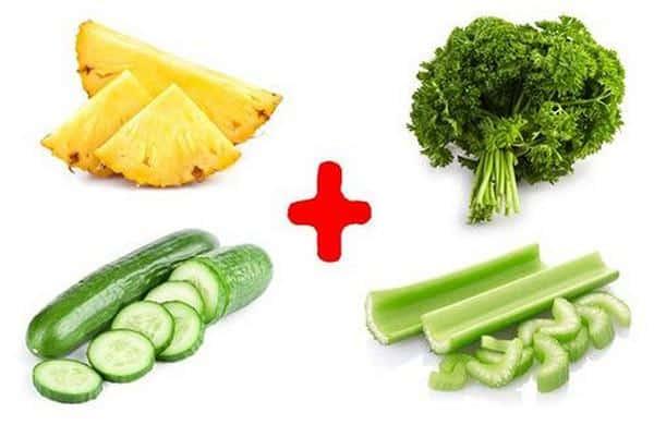 cách giảm cân bằng dứa