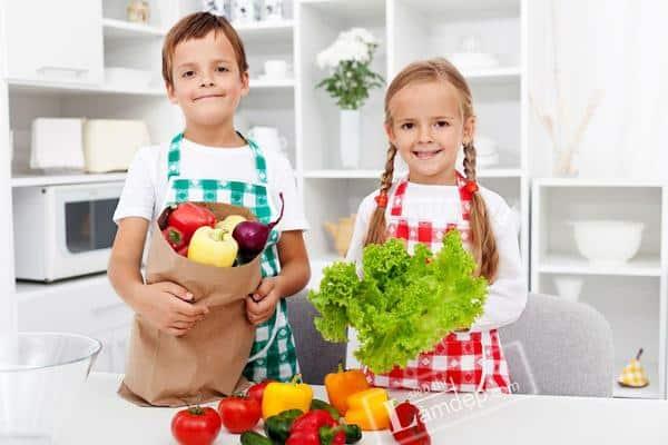 Cách giảm cân cho trẻ