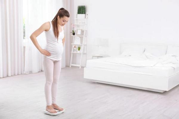 cách giảm cân khi mang thai