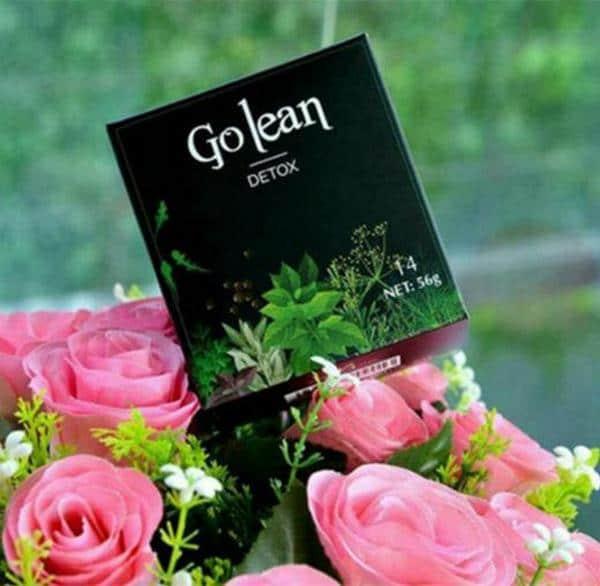 công dụng bất ngờ của trà giảm cân Golean detox