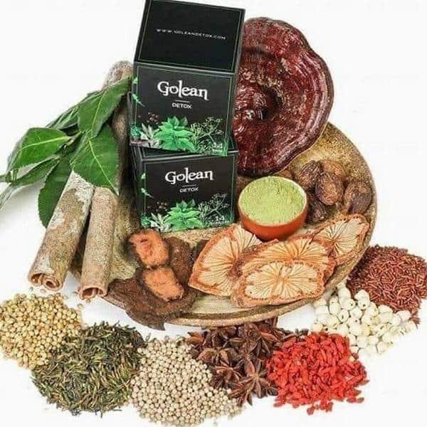 nguồn gốc trà giảm cân Golean detox