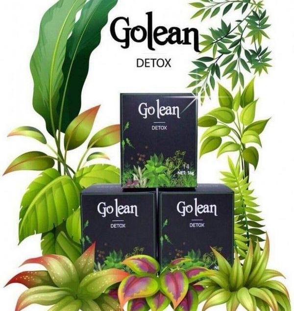 nguyên liệu chính trà giảm cân Golean detox
