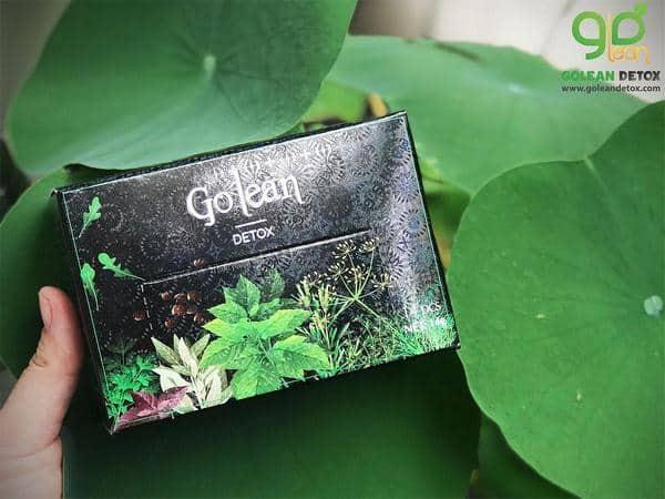 trà giảm cân Golean Detox