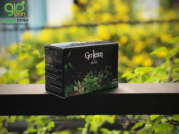 trà giảm cân Golean Detox giảm được mấy kg