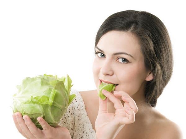 giảm cân ăn rau