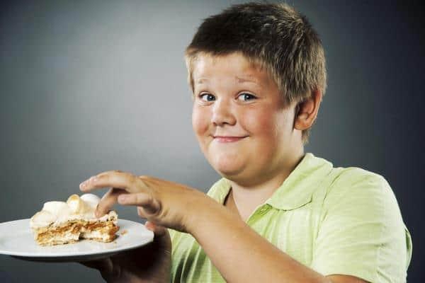 cách giảm cân dành cho trẻ em