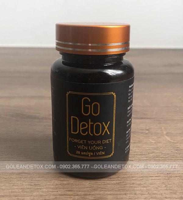 trà giảm cân golean detox - godetox